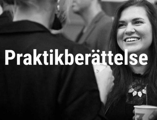 Praktikberättelse – Amanda Karlsson